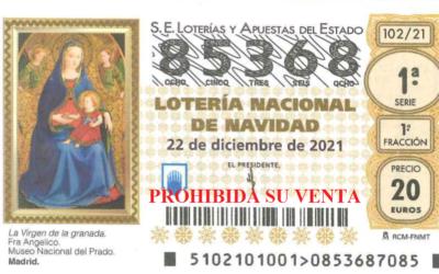 Lotería de Navidad 2021