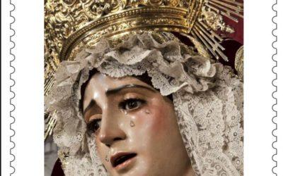 Presentado el sello, matasellos y postal de Correos conmemorativa por el 75 aniversario de Sevilla Mariana