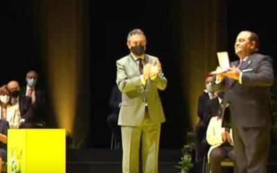 La Medalla de la Ciudad fue presentada en San Bernardo