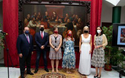 Presentación de la restauración del cuadro de la Sagrada Cena